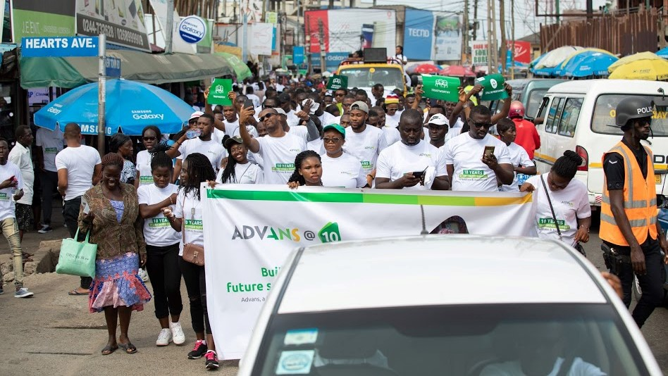Advans Ghana Health Walk